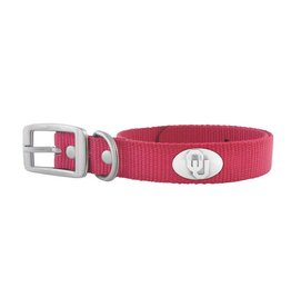 Zep-Pro OU Concho Crimson Nylon Dog Collar