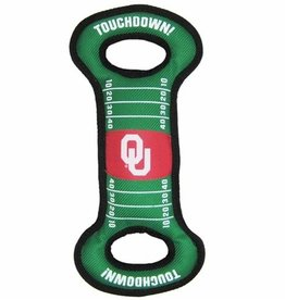 Pets First OU Football Field Pet Pull Toy