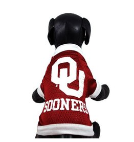 All Star Dogs University of Oklahoma Mesh Dog Jersey