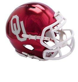 Riddell OU Riddell Speed Mini Helmet-Chrome