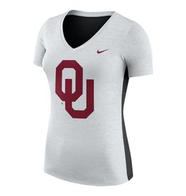 Nike Women's Nike Dri-Fit V-Neck 2-Tone Tee