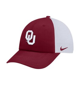 Nike Men's Nike H86 Trucker Adjustable Crimson/White Hat