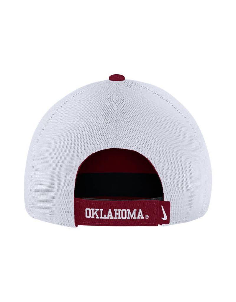 Nike Men's Nike H86 Trucker Adjustable Crimson/White Hat