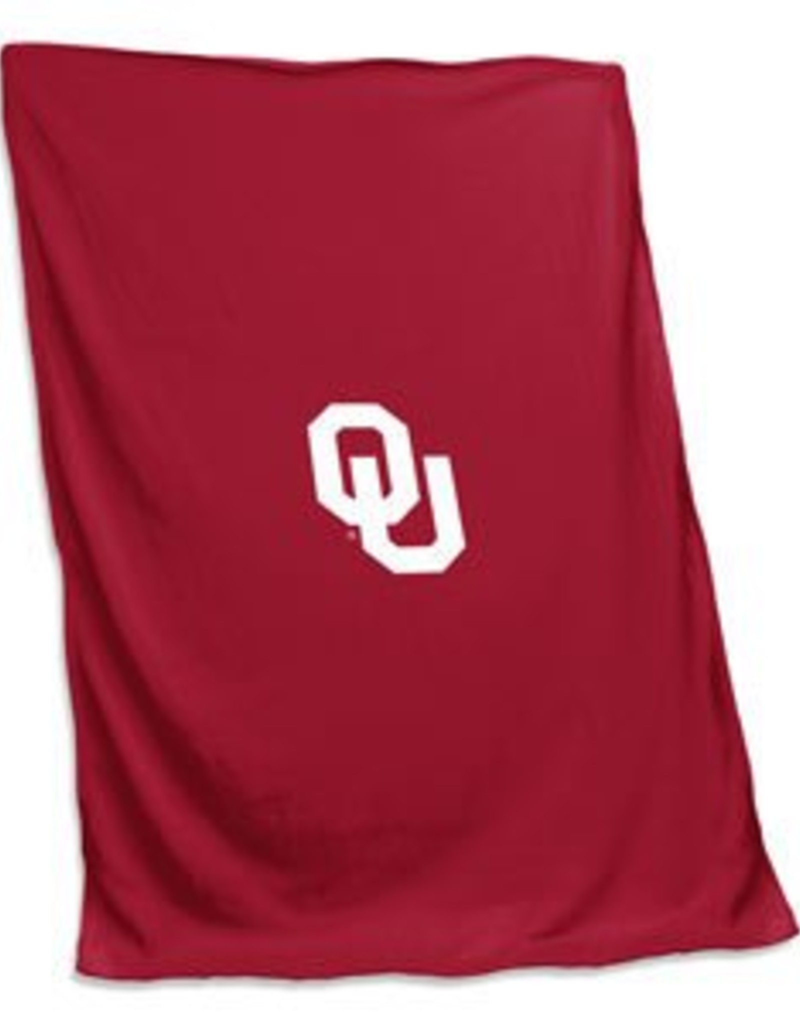 "Logo Logo Brands Sweatshirt Blanket Applique OU 84""x54"""
