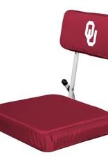 Logo Logo Brands Hard Back Stadium Seat