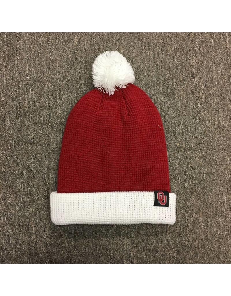 c100aaa4255 Nike Crimson  White Beanie with Removable Pom - Balfour of Norman