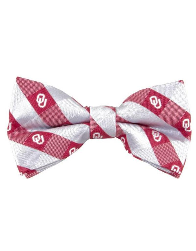 Eagles Wings Eagles Wings Checkered Woven Polyester Bow Tie