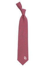 Eagles Wings Eagles Wings OU Diamante Woven Polyester Necktie