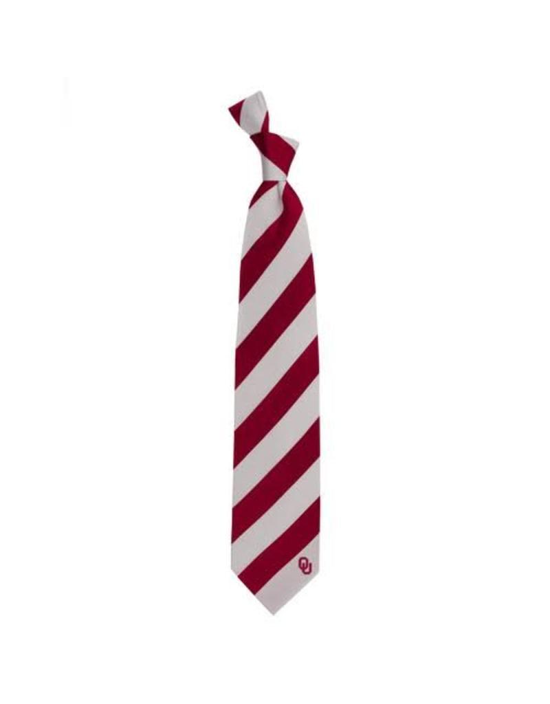 Eagles Wings Eagles Wings OU Regiment Silk Necktie
