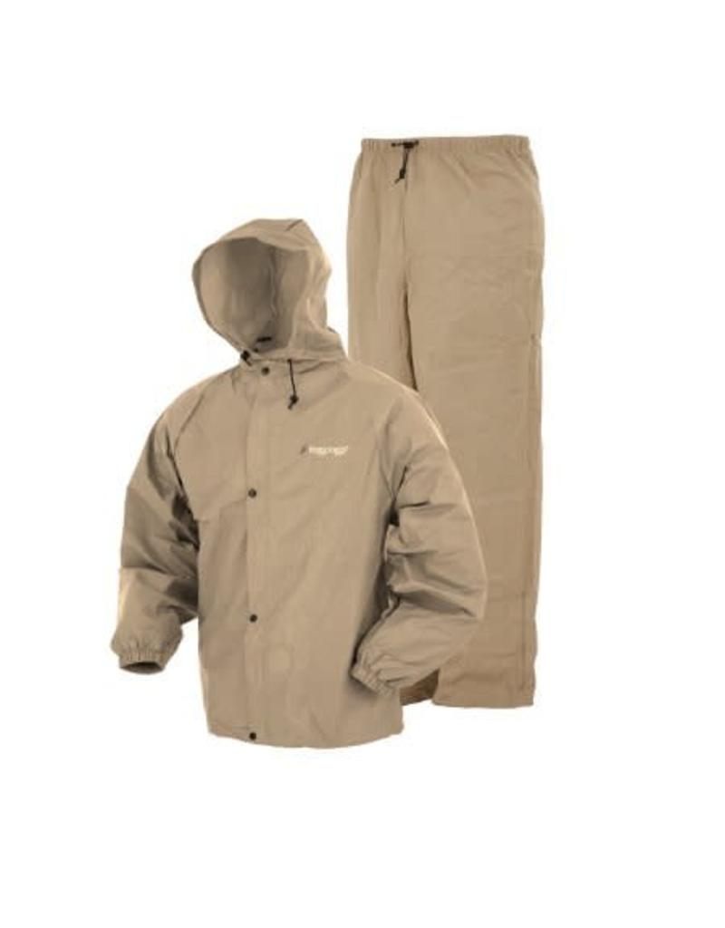 Frogg Toggs Frogg Toggs Khaki Pro-Lite Rain Suit