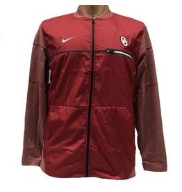 Nike Men's Nike 2017 Crimson OU Coaches Sideline Hybrid Jacket