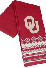 Top of the World Top Of The Word OU Knit Scarf Crimson & Cream