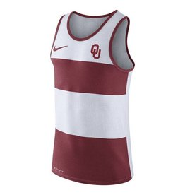 Nike Nike Striped Tank Crimson and White
