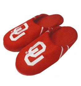 Forever Collectibles Forever Collectibles Men's Crimson Jersey Slippers