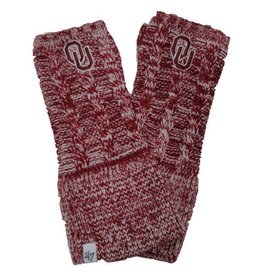 '47 Brand '47 Brand OU Crimson Fingerless Gloves