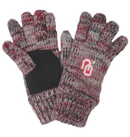 Forever Collectibles Forever Collectibles Grey and Crimson Gloves