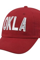 Top of the World TOW Women's OU Crimson Glow District Hat