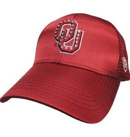 Top of the World TOW Women's Rhinestone Mesh Back Shine Hat