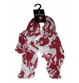 ZooZatz Zoozatz Half and Half Oblong Scarf