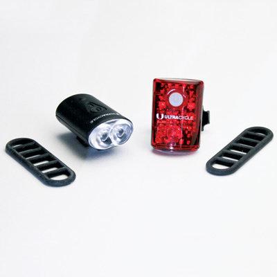 ULTRACYCLE KHS UC USB MINI LIGHT SET FR/RR