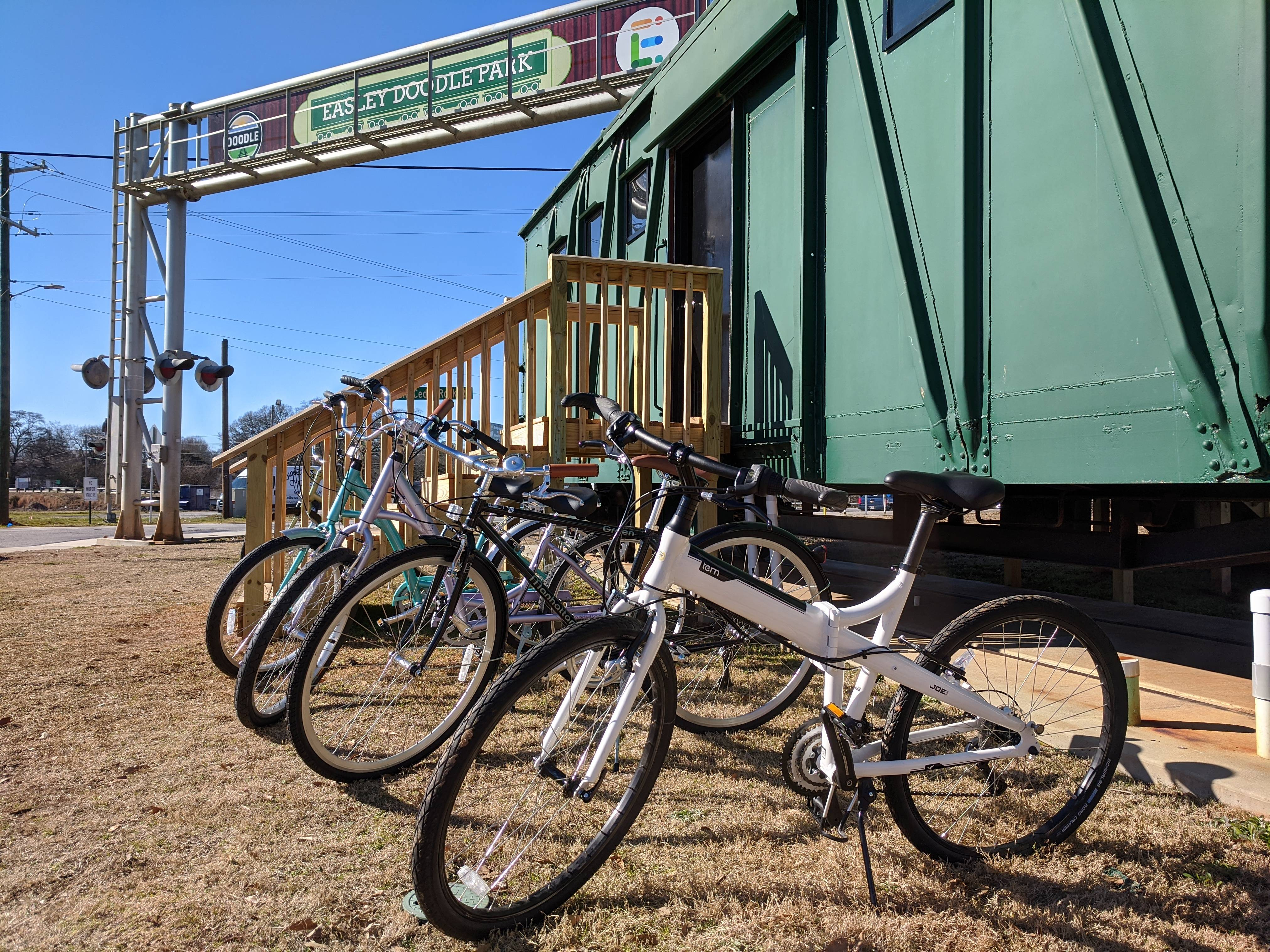 Rent a Bike on the Doodle Trail!