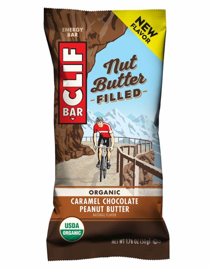 Clif Bar Nut Butter Filled: Caramel Chocolate Peanut Butter