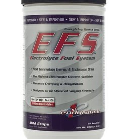 First Endurance EFS Drink Mix: Grape; 25 Serving Canister