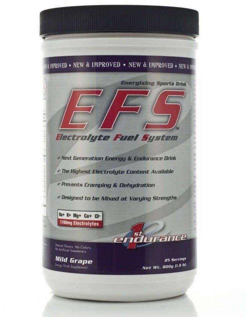 First Endurance EFS Drink Mix: Grape; 25 Serving Canister