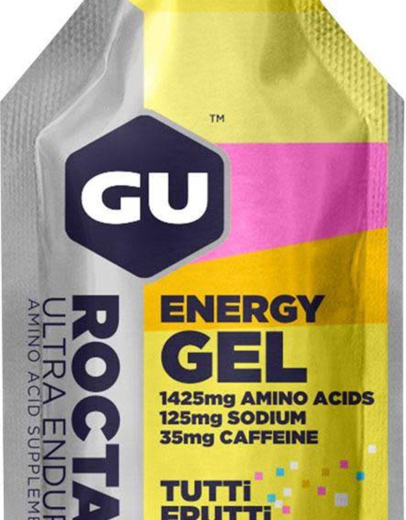 GU Roctane Energy Gel: Tutti Frutti 35mg Caffeine Single