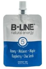 Single B-Line Blue Honey,Blackstrap Molasses, Maple Syrup, Rasberry, and Chia seeds