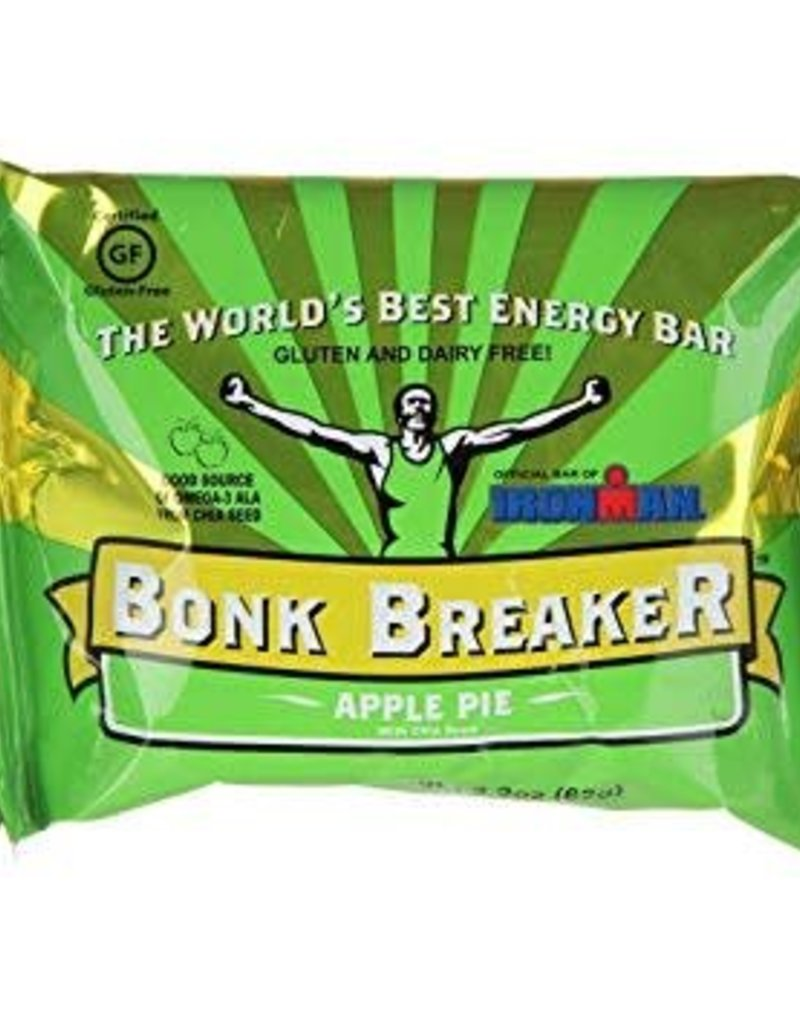 SINGLE Bonk Breaker Energy Bar: Apple Pie with Chia Seeds