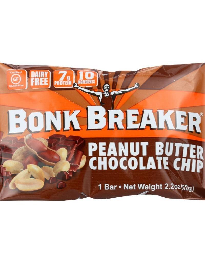 SINGLE Bonk Breaker Peanut Butter Dark Choc Chip