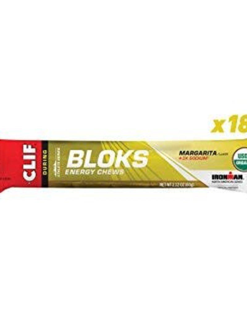 SINGLE Clif Shot Bloks: Margarita with 3x Sodium; single