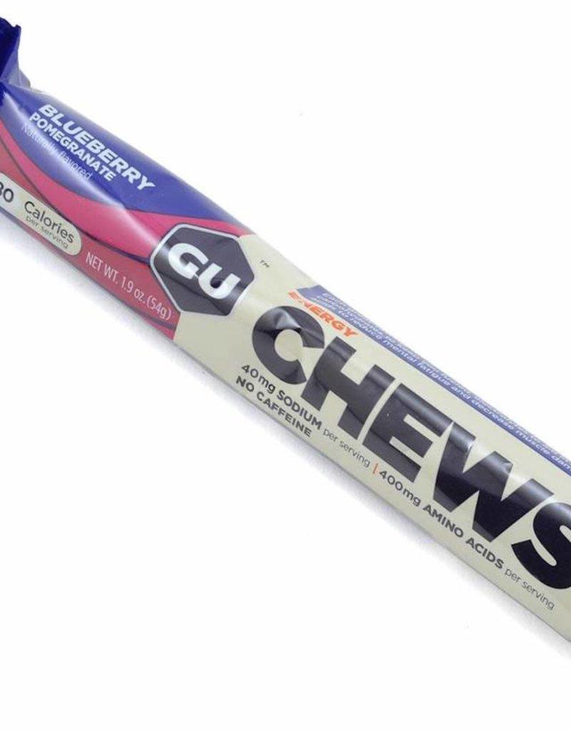 Single GU Energy Chews: Blueberry Pomegranate