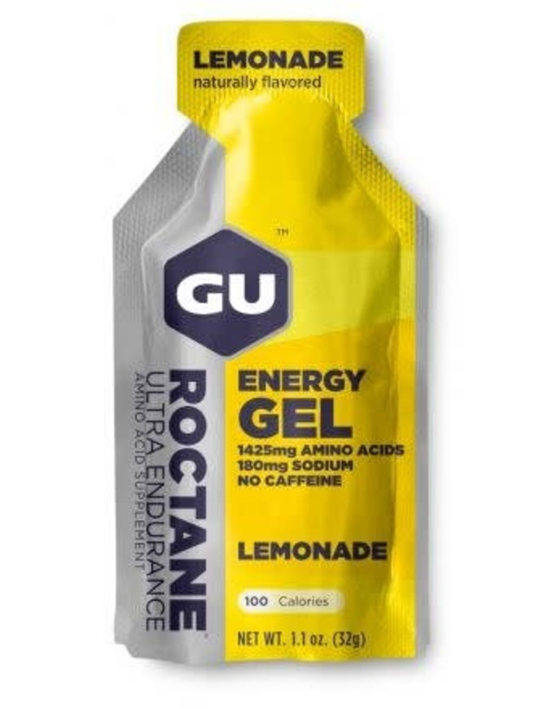 SINGLE GU Roctane Energy Gel: Lemonade