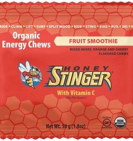 SINGLE Honey Stinger Organic Energy Chews: Fruit Smoothie