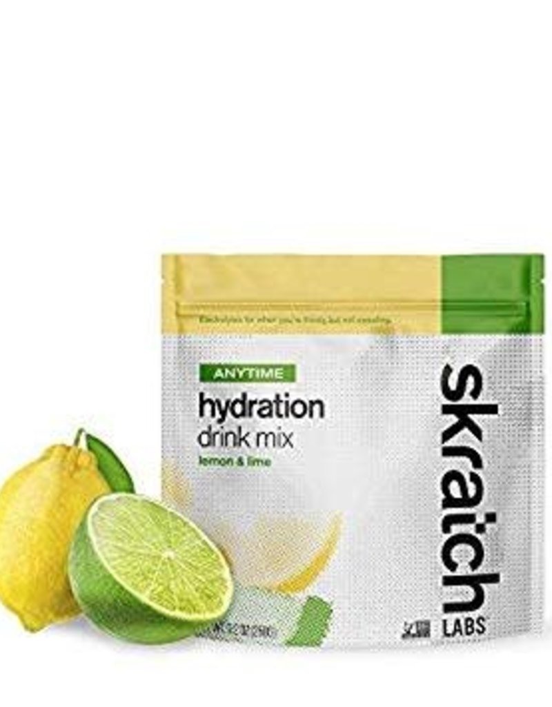 Single Skratch Labs Anytime Hydration Drink Mix: Lemons and Limes