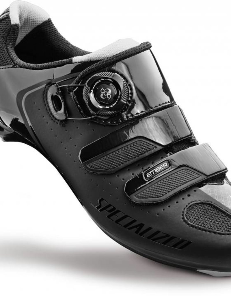 Specialized EMBER WMN RD SHOE BLK/SIL 36/5 36/5.75