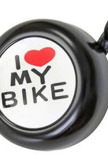 BELL SUNLT I LOVE MY BIKE BK