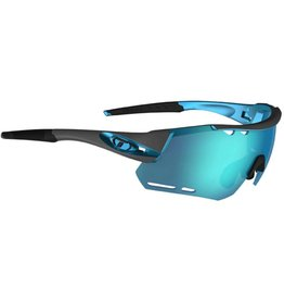 Alliant, Gunmetal/Blue Interchangeable Sunglasses - Clarion Blue/AC Red/Clear
