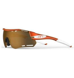 Alliant, Matte Orange Interchangeable Sunglasses - Brown/AC Red/Clear