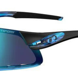 Davos, Crystal Blue Interchangeable Sunglasses - Clarion Blue/AC Red/Clear