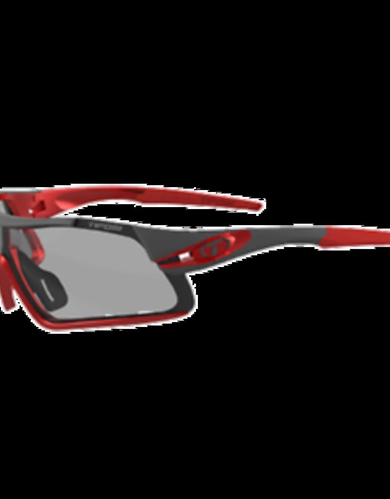 Davos, Race Red Fototec Sunglasses - Smoke Fototec