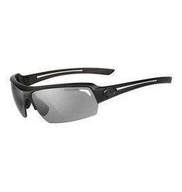 Just, Matte Black Single Lens Sunglasses - Smoke Lens