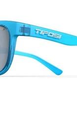 Swank, Crystal Sky Blue Single Lens Sunglasses - Smoke Bright Blue