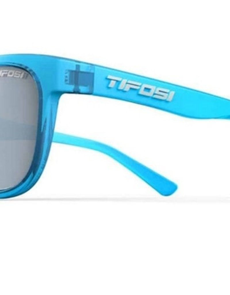 Swank, Crystal Sky Blue Single Lens Sunglasses - Smoke Bright Blue