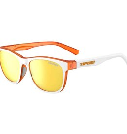 Swank, Icicle Orange Single Lens Sunglasses - Smoke Yellow