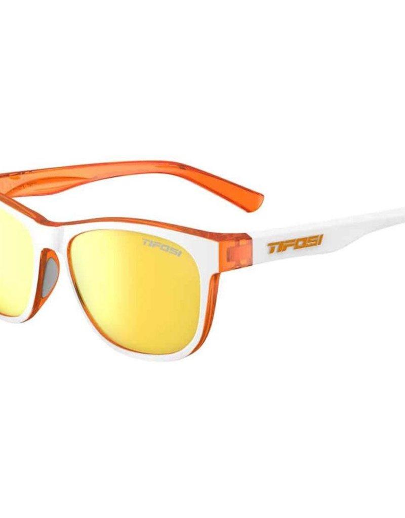 Swank, Icicle Orange Single Lens Sunglasses - Smoke Yellow
