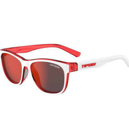 Swank, Icicle Red Single Lens Sunglasses - Smoke Red