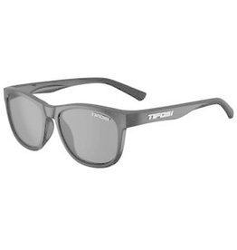 Swank, Satin Black Polarized Sunglasses - Smoke Polarized